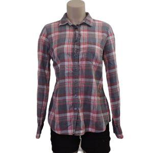 J. CREW 100% Cotton flannel plaid shirt Medium